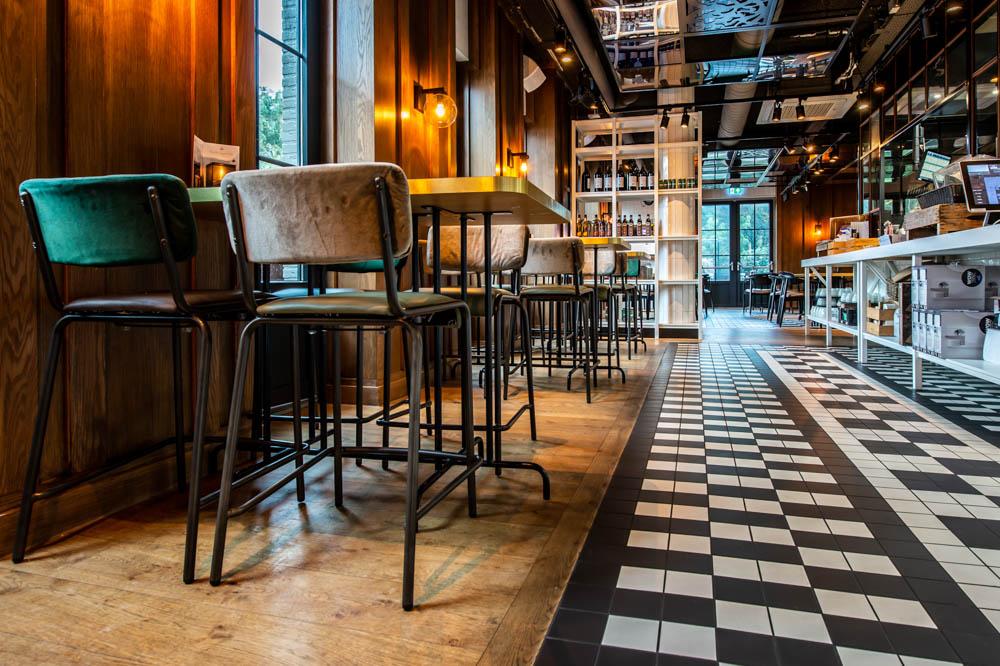 Grand Café Blur Dishoek Schipper Parket